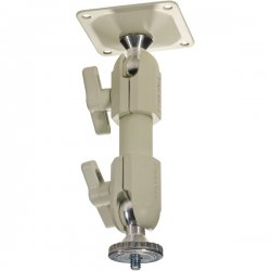 """PanaVise - 827-09W - PanaVise 827W 9"""" CCTV Deluxe Mount - Cream"""