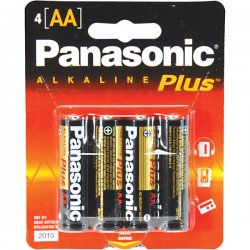 Panasonic - AM-3PA/4B - Panasonic AA-Size General Purpose Battery Pack - Alkaline