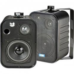 TIC - ASP25-B - TIC ASP25-B Speaker System - 25 W RMS - Black - 75 Hz - 20 kHz