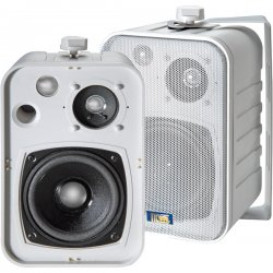 TIC - ASP25-W - TIC ASP25-W Speaker System - 25 W RMS - White - 75 Hz - 20 kHz