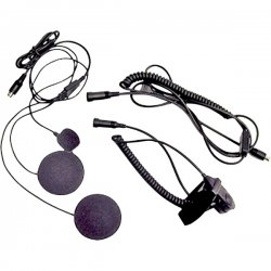 Midland Radio - AVPH2 - Midland AVP-H2 Closed Faced Helmet Earset - Over-the-ear