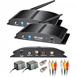 RF Link - AVS-5808 - Araneus Wireless 8-Channel Indoor Audio/Video System - Wireless - PAL, NTSC