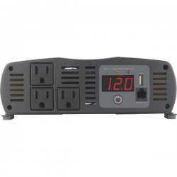 Cobra Electronics - CPI-1575 - Cobra CPI 1575 1500W DC-to-AC Power Inverter - 12V DC - 120V AC - , 5V DC - Continuous Power:1500W