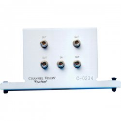 Channel Vision - C-0234 - Channel Vision 4-Way RF-Splitter - 2300MHz