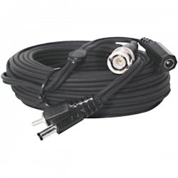 Speco - CBL-150BB - Speco CCTV Power/Video Extension Cable - 150ft