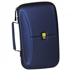 Case Logic - CDE-72/BLUE - Case Logic EVA Media Wallet - Book Fold - EVA (Ethylene Vinyl Acetate) - Blue - 72 CD/DVD