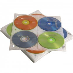 Case Logic - CDP-200 - 200 Disc Cap CD ProSleeve Pgs.