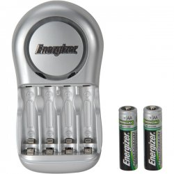 Energizer - CHVCWB2 - Energizer Value Chargr With 2 Aa Batteries