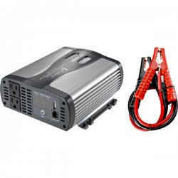Cobra Electronics - CPI-1000 - Cobra 1000W DC-to-AC Power Inverter - 12V DC - 120V AC - Continuous Power:1000W