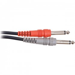 Hosa - CPP-202 - Hosa Standard Stereo Interconnect Cable - Phono Male Stereo - Phono Male Stereo - 6.56ft