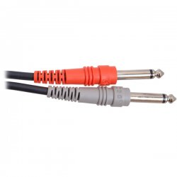 Hosa - CPP-203 - Hosa Standard Stereo Interconnect Cable - Phono Male Stereo - Phono Male Stereo - 9.84ft