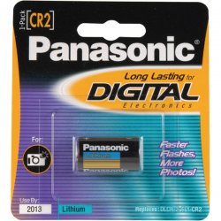 Panasonic - CR-2PA/1B - Cr2 Photo Battery 3v Lithium 1 Pack