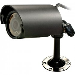 Speco - CVC-320WP - Speco CVC-320WP Waterproof Bullet Camera - Black - Black & White - CCD - Cable