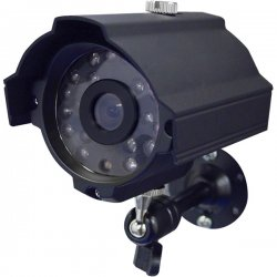 Speco - CVC-627B - Speco CVC-627B Waterproof Day/Night Bullet Camera - Black - Color, Black & White - CCD - Cable