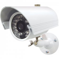 Speco - CVC-627M - Speco CVC-627M Day/Night Bullet Marine Camera - White - Color, Black & White - CCD - Cable