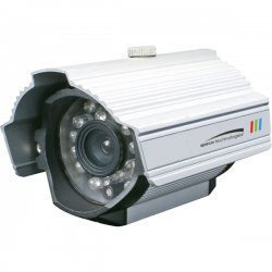 Speco - CVC-627SCS - Speco CVC627SCS Security Camera - Color - CCD - Cable