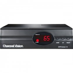 Channel Vision - CVT1stereo-II - Channel Vision CVT1stereo-II 1-Input Stereo Modulator - UHF, CATV - NTSC