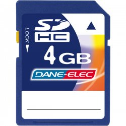 DANE-ELEC - DASD4096R - 4GB Secure Digital High Capacity (SDHC) Card