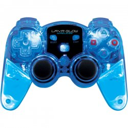 dreamGEAR / iSound - DGPN-524 - dreamGEAR Lava Glow RF Wireless Controller - Wireless - Radio Frequency - PlayStation 2