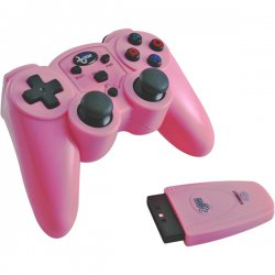 dreamGEAR / iSound - DGPN-558 - dreamGEAR Magna Force RF Wireless Game Pad - Wireless - Radio Frequency - PlayStation 2