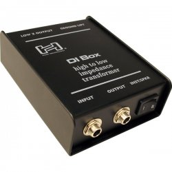 Hosa - DIB-443 - Hosa Sidekick Passive DI Box 1/4 in TS to XLR3M