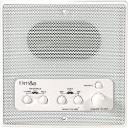 M&S Systems - DMC1RW - M&S SYSTEMS DMC1RW Weather-Resistant Remote Station Speaker (White)