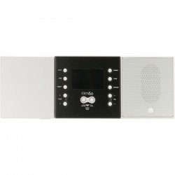 M&S Systems - DMC3-4 - M&S SYSTEMS DMC3-4 3- or 4-Wire Retrofit Music/Communication System Master Unit (White)