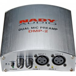Nady System - dmp-2 - Nady DMP-2 Dual Microphone Preamp