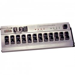 Channel Plus - DMT-24 - Telephone Hub- 4 lines with surge- 24 RJ45 outputs