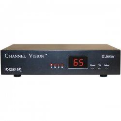 Channel Vision - e4200ir - Channel Vision E4200IR 4-Input RF Modulator - UHF, CATV - NTSC