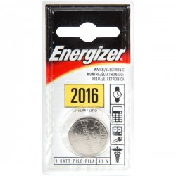 Energizer - ECR2016BP - Energizer 2016 Keyless Entry Battery - Lithium (Li) - 3 V DC - 1 Each