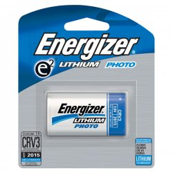 Energizer - ELCRV3BP - Eveready CRV3 Photo Lithium Camera Battery