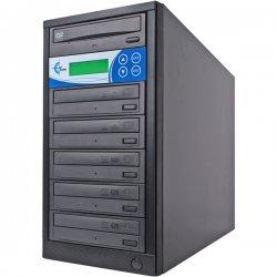 EZ Dupe - EZD5TDVDLGB - EZdupe 1:5 CD/DVD Duplicator - StandaloneDVD-ROM, DVD-Writer - 52x CD-R, 24x DVD+R, 24x DVD-R, 4x DVD+R, 4x DVD-R - 52 CD Read/52 CD Write - 24 DVD Read/24 DVD Write