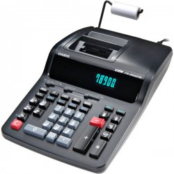 Casio - FR2650TM - Casio 12-digit 2-color Printing Calculator - Dual Color Print - 3.5 lps - 12 Digits - AC Supply Powered - 4.3 x 8.5 x 15 - 1 Each