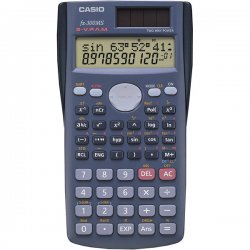 "Casio - FX300MS - Casio FX-300MS Scientific Calculator - 229 Functions - 7 KB - 2 Line(s) - 10 Digits - LCD - Battery/Solar Powered - 0.4"" x 2.9"" x 4.6"" - Black - 1 Each"