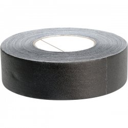 "Hosa - GFT-447BK - Hosa GFT-447BK Gaffer Tape - 2"" Width x 60yd Length - Cloth - Removable - Black"
