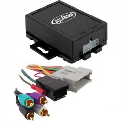 Axxess - GMOS-04 - 4-Channel RCA Input - 2000-2008 GM Vehicles
