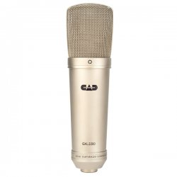 CAD Audio - gxl2200 - CAD GXL2200 Cardioid Condenser Microphone - 30Hz to 20kHz - Cable