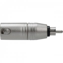Hosa - GXR-135 - Hosa XLR to RCA Adapter - 1 x XLR Male Audio - 1 x RCA Male