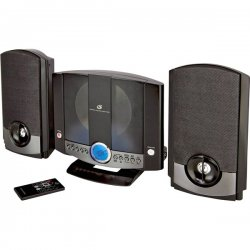 GPX - HM3817DTBLK - GPX HM3817DT Micro Hi-Fi System - CD Player