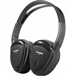 Power Acoustik - HP-11S - Power Acoustik HP-11S Wireless Headphone - Wired Connectivity - Stereo - Over-the-head