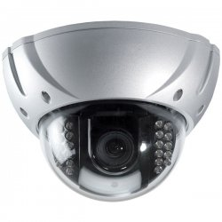 Speco - HT-650IRVFHQ/S - Speco HT-650IRVFHQ/S Weatherproof Dome Camera - Silver - Color - CCD - Cable