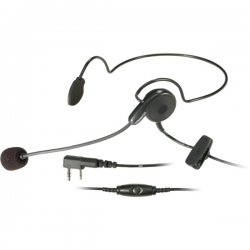 Kenwood - KHS-22 - Kenwood KHS-22 PTT Headset - Behind-the-neck