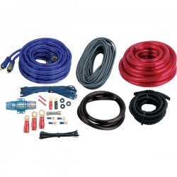 Boss Audio Systems - KIT10 - BOSS AUDIO KIT10 4 Gauge, High Performance, Amplifier Installation Kit with RCA Interconnect and Speaker Wire - 1 Year Warranty