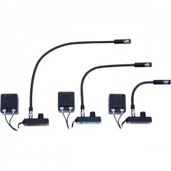 Littlite - L-1/18 - Low Intensity 18 Detachable BNC Gooseneck Lampset (U.S. Power Supply)