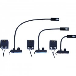 "Littlite - L-3/18 - High Intensity 18"" Permanently Attached Gooseneck Lampset (U.S. Power Supply)"