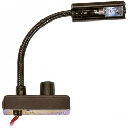 "Littlite - L-9/12 - High-Intensity 12"" Gooseneck Automotive Lamp (Top Chassis Light, Wiring Kit)"