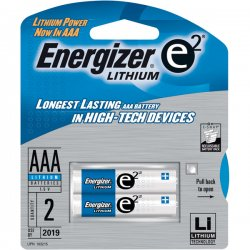 Energizer - L92BP2 - Energizer Ultimate Lithium AAA Batteries - AAA - Lithium (Li) - 1.5 V DC - 2 / Pack