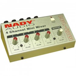 Nady System - MM-141 - Nady MM-141 4-Channel Mini Mixer