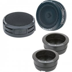Power Acoustik - NB-2 - Power Acoustik NB-2 Tweeter - 100 W RMS - 200 W PMPO - 3-way - 4 Ohm